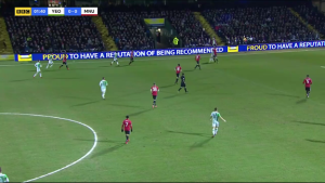 1,40 Manchester United Recovering the Ball in a Defensive Phase