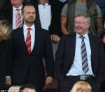 Executive Vice-Chairman Ed Woodward Manchester United Sir Alex Ferguson Premier League Old Trafford Stands