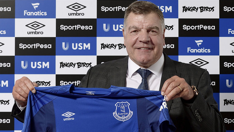 Sam Allardyce Appointed Manager Everton Football Club Premier League