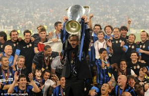 Jose Mourinho Inter Milan Champions League Winner Best Manager Manchester United